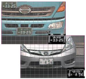 LPR車番認識カウントシステムの管理画面